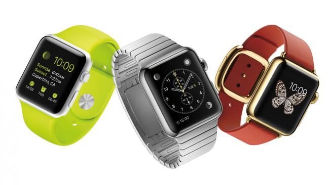 apple watch classement e1447932777399 LApple Watch occupe les 3 places du podium des montres connectées