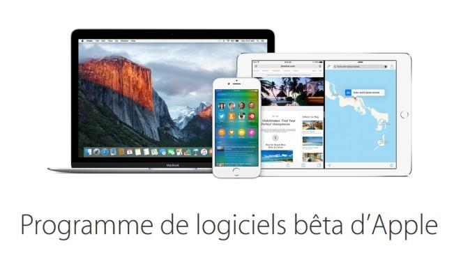 beta apple e1456304787618 iOS 9.3 et OS X 10.11.4 disponibles en bêta 4 pour le public