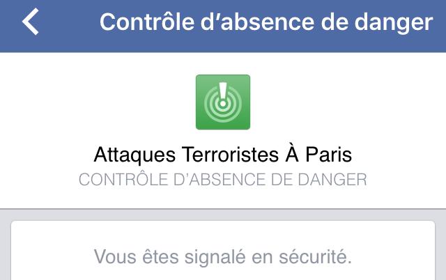 controle securite Le contrôle de sécurité de Facebook lié à des actes terroristes fait polémique