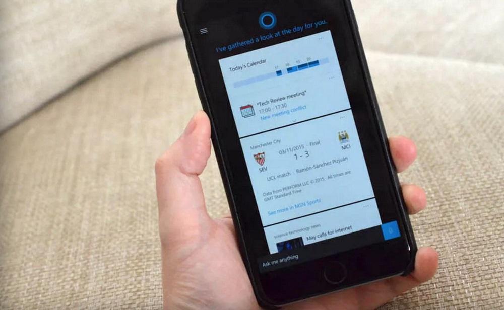 cortana ios Microsoft lance les bêta tests de Cortana sur iOS !