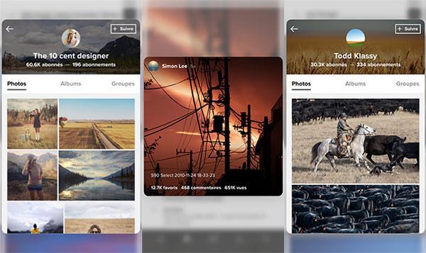 flickr 2 Flickr 4.0.6 : 3D Touch et compatibilité iOS 9