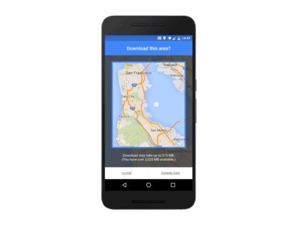 google maps 1 Google Maps hors ligne en approche sur iOS !