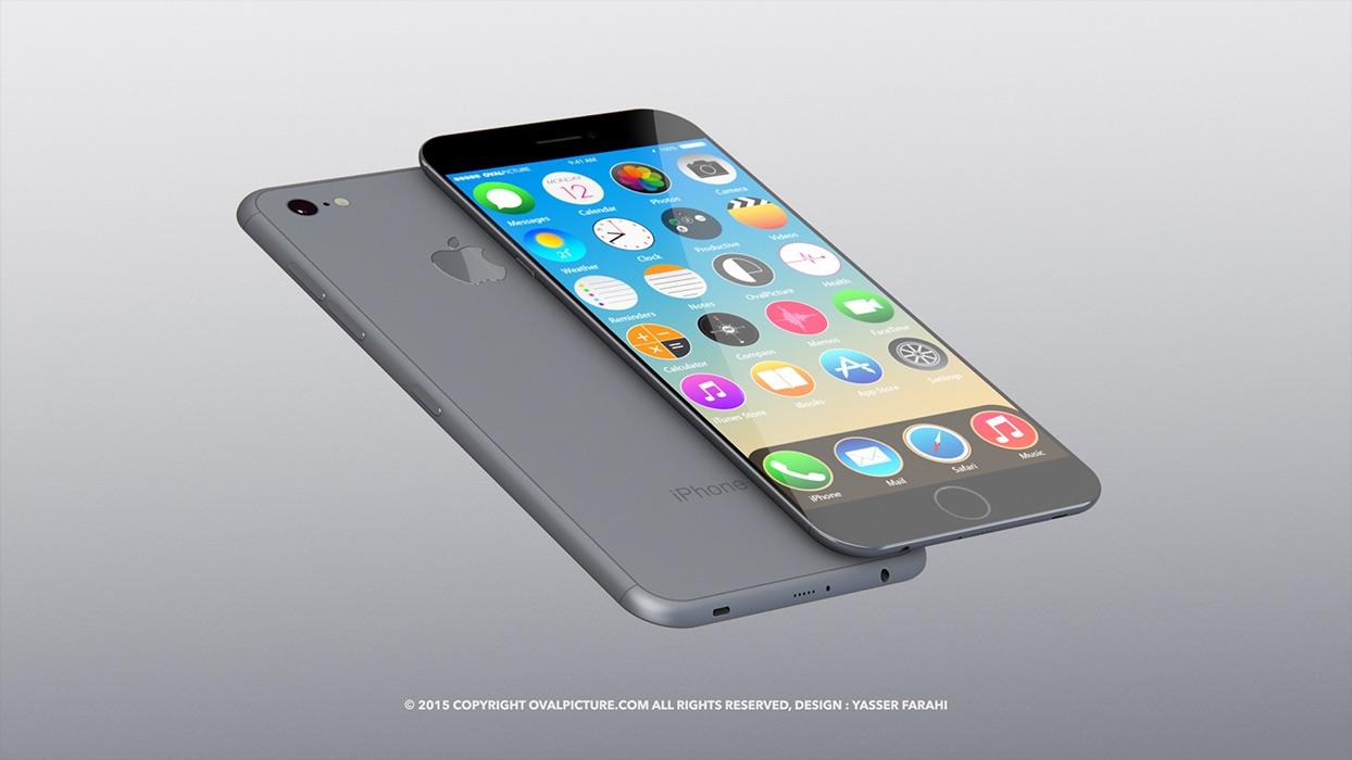 iPhone 7 concept Yasser Farahi 001 Rumeur : liPhone 7+ aurait 3 Go de RAM et serait étanche