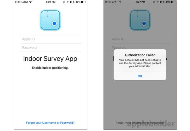 indoor survey e1446453610681 Apple lance Indoor Survey, lappli de géolocalisation intérieure !