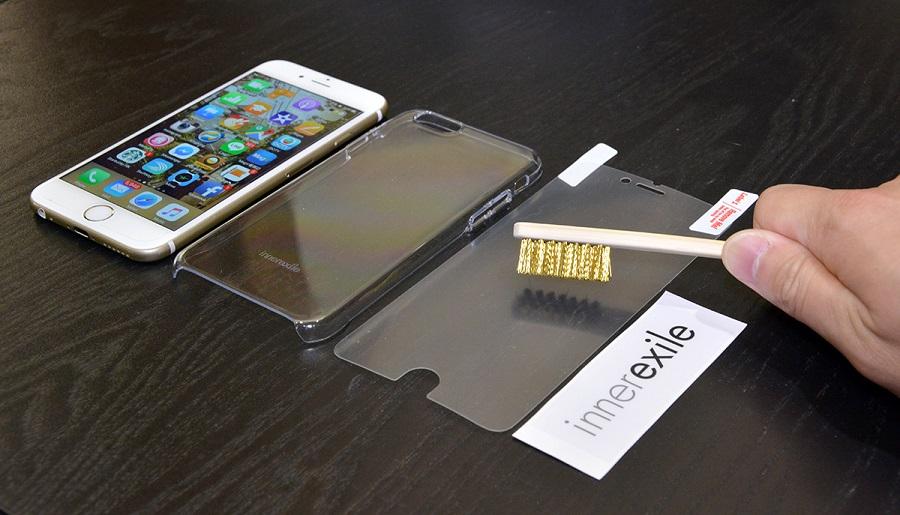 innerexile instant self repair iPhone : une protection écran auto réparatrice