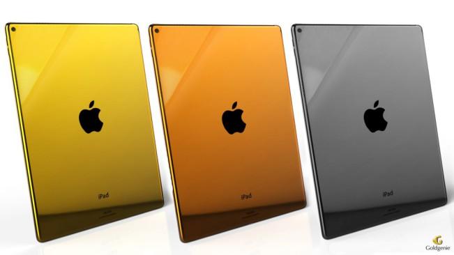 ipad pro or platine e1446714049372 En images : un sublime iPad Pro en or 24 carats