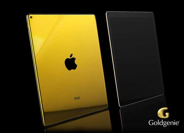 ipad pro or En images : un sublime iPad Pro en or 24 carats