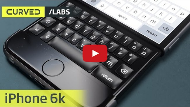iphone 6k concept e1448616578358 Vidéo : un concept diPhone 7 avec clavier coulissant