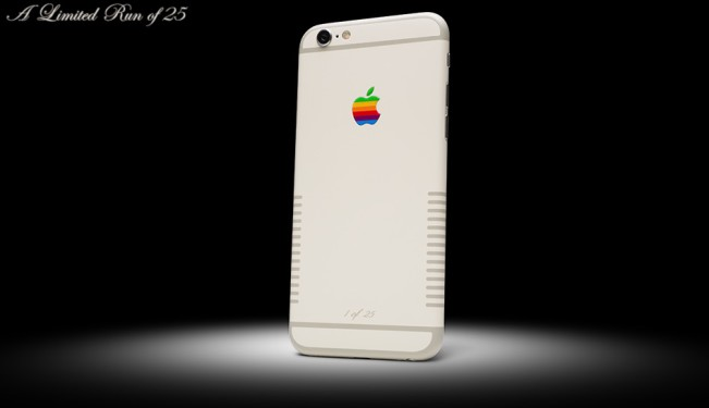 iphone 6s retro1 e1447231897707 iPhone 6s Retro : une version inspirée du Mac de 84