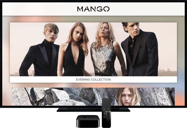 mango apple tv Mango lance son application sur lApple TV 4 !
