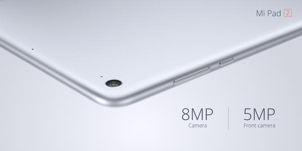 mi pad 2 cameras Xiaomi annonce ses nouveaux MiPhone et MiPad