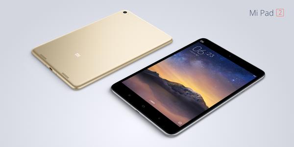 mi pad 2 main Xiaomi annonce ses nouveaux MiPhone et MiPad