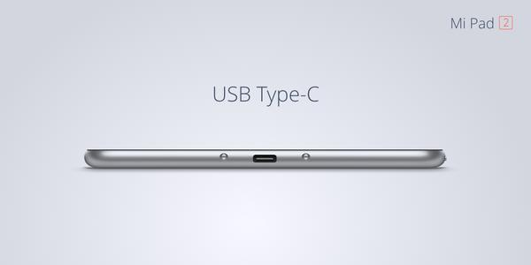 mi pad 2 usb c Xiaomi annonce ses nouveaux MiPhone et MiPad
