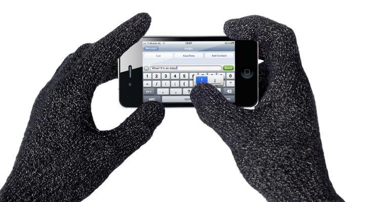mujjo touchscreen gloves typing Bientôt vous pourrez utiliser votre iPhone avec des gants