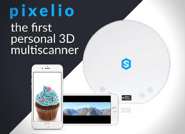 pixelio Smart3D Ltd veut transformer liPhone en scanner 3D