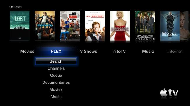 plex apple tv e1446542618622 Plex sur Apple TV ouvre les portes du streaming