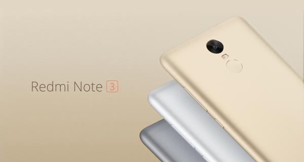 redmi 3 main Xiaomi annonce ses nouveaux MiPhone et MiPad