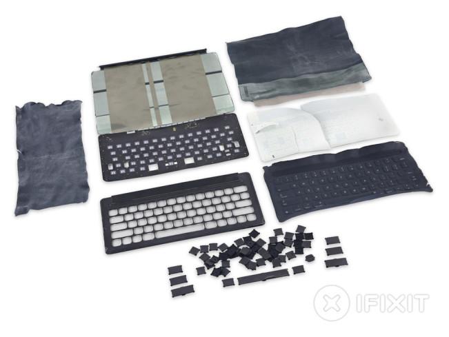 iPad Pro : le Smart Keyboard démonté par iFixit