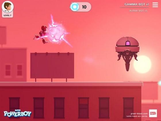 super powerboy Super Powerboy : un jeu iOS digne dun Pixar disponible en bêta