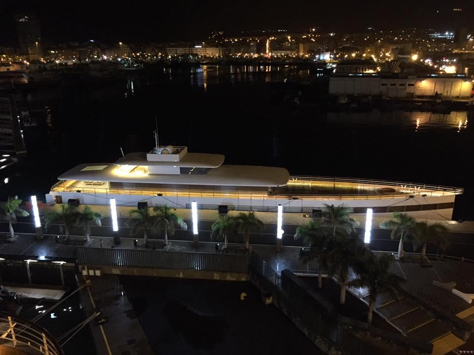yacht steve jobs venus Le yacht de Steve Jobs fait une escale à Las Palmas de Gran Canaria