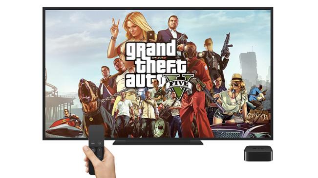 GTA V Apple TV e1449169701197 LApple TV 4 peut afficher des jeux Steam en streaming !