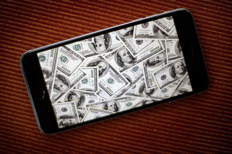 apple money 780x520 Apple a connu un Black Friday historique !
