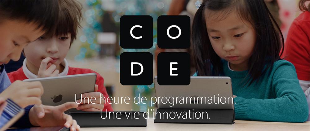 code apple store ateliers Apple propose des ateliers dinitiation au codage pour vos enfants