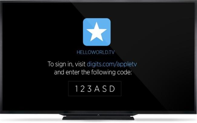 digits1 e1449129250155 Twitter lance son SDK pour Apple TV 4