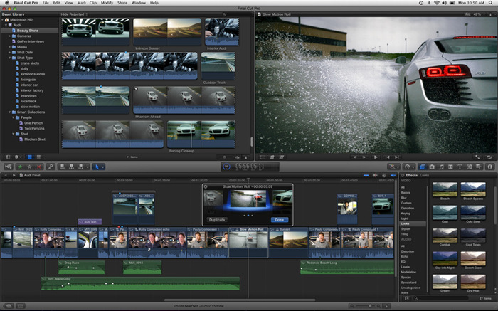 final cut pro x Apple préférerait Adobe et AVID à son propre Final Cut