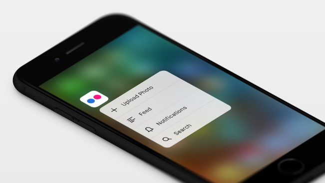 flickr 3D touch e1449134709628 Flickr pour iOS 9 passe au 3D Touch