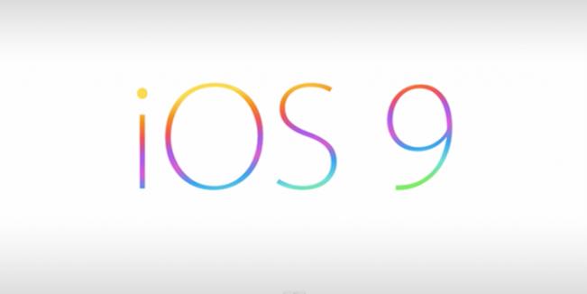 ios 9 e1449054639817 iOS 9 atteint 70% dadoption et continue à ralentir