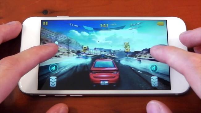 iphone 6 e1450470189638 Pour les jeux vidéos, liPhone écrase Android