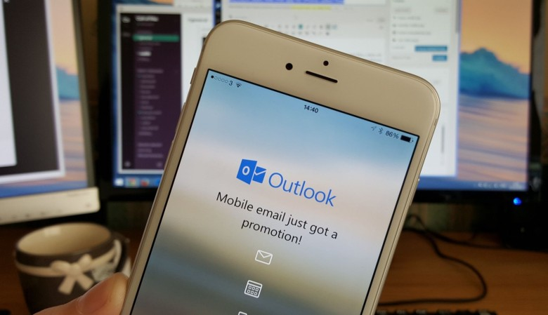 outlook iphone6s Outlook supporte le 3D Touch de liPhone 6s