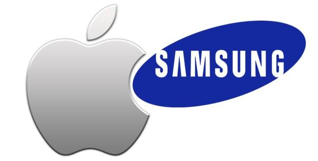 samsung apple1 e1451292363723 Apple réclame 179 millions de dollars supplémentaires à Samsung