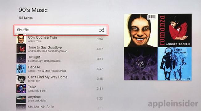 shuffle apple music e1449486199195 Apple Music : le mode shuffle disponible sur Apple TV