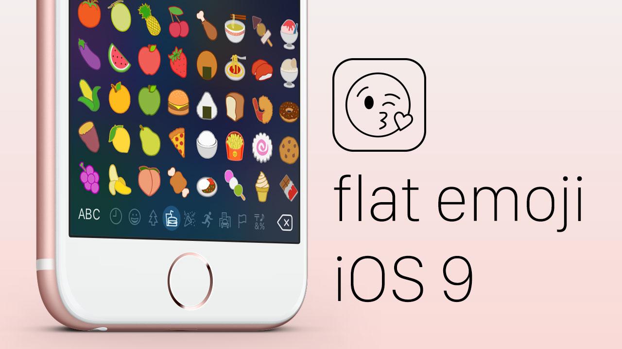 Miniature 1 [Vidéo] Les émoticônes en Flat Design pour iOS 9
