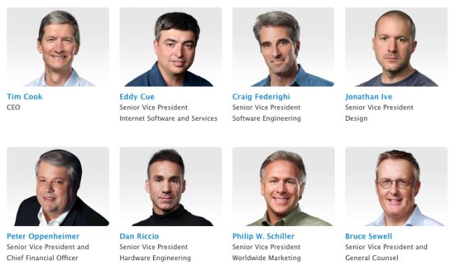 apple dirigeants e1451679072496 Apple va devoir recruter des dirigeants de couleur