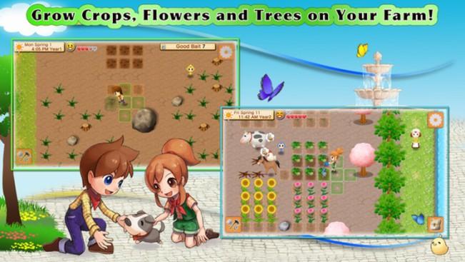 harvest moon ios e1452855055880 Trailer : Harvest Moon Seeds of Memory est disponible sur iOS