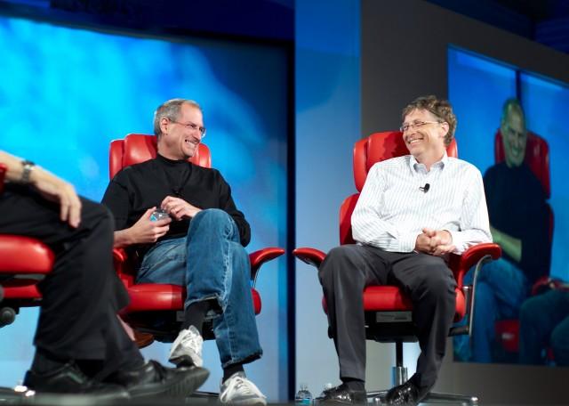 steve jobs bill gates Nerds, une comédie musicale sur Steve Jobs vs Bill Gates
