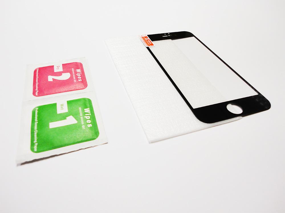 2 La 9H protection décran et façade intégrale pour iPhone 6/6S