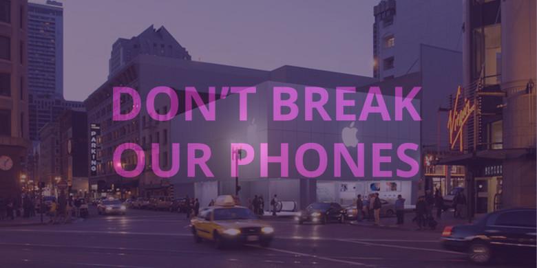 Encryption protest San Francisco Feb 17 780x390 50 villes des USA manifestent aujourdhui pour soutenir Apple contre le FBI