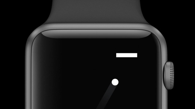 a tiny game of pong e1455724279636 Pong, le tout premier jeu vidéo est jouable sur Apple Watch