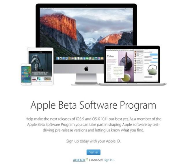 apple beta e1454958746302 3ème bêta pour iOS 9.3, watchOS 2.2, OS X 10.11.4 et tvOS 9.2