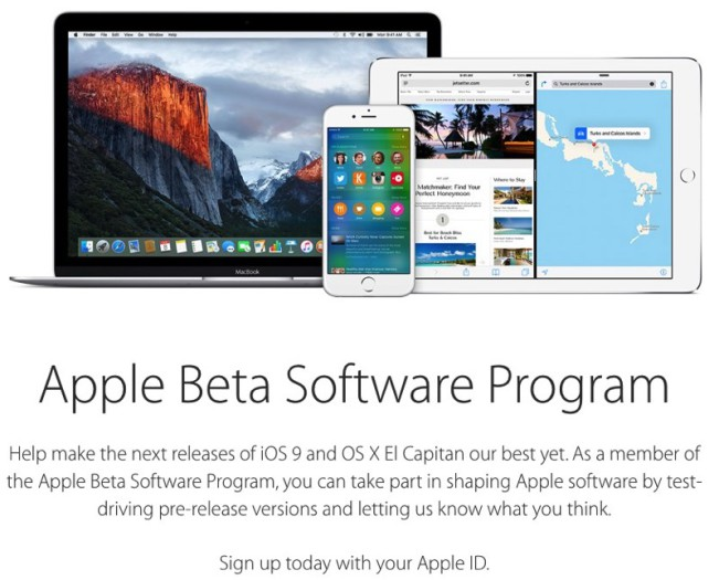 beta apple e1456173800798 Bêta 4 pour iOS 9.3, tvOS 9.2, watchOS 2.2 et OS X 10.11.4