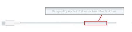 cable usb c Apple a commencé à expédier les cables USB C de remplacement