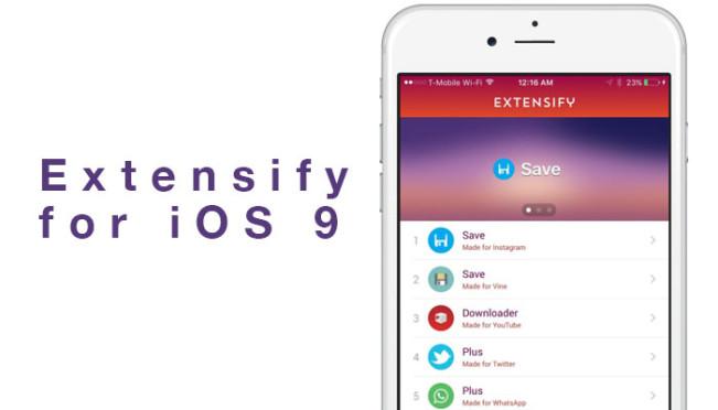 extensify e1456778248366 Découvrez Extensify, le tweak store sans jailbreak !