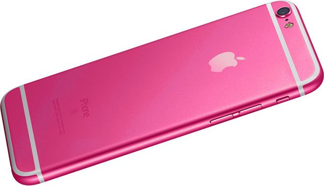 iPhone rose Une déclinaison rose flashy pour liPhone 5se ?