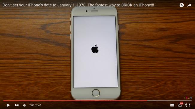 iphone 1970 e1455269092528 Vidéo : voici comment bloquer un iPhone en changeant la date