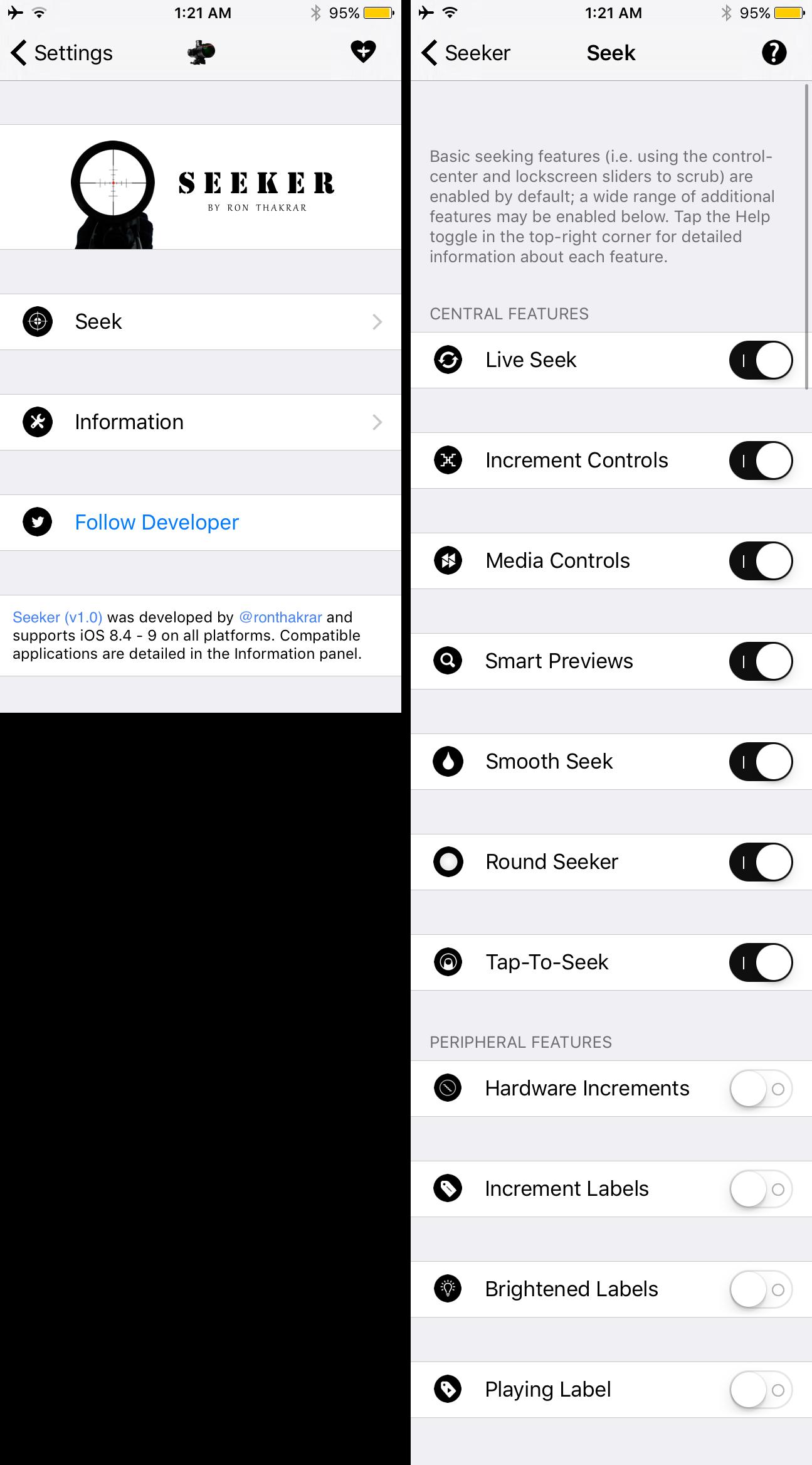 seeker preferences pane Cydia : personnaliser et augmenter les contrôles natifs iOS de la musique