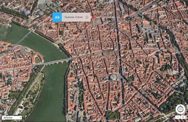 toulouse flyover e1454606703837 Flyover : 20 nouvelles villes en 3D dont 4 françaises !